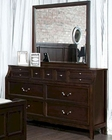 Najarian Furniture Dresser and Mirror Newport NA-NPDRMR