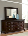 Najarian Furniture Dresser and Mirror Sonoma NA-SN-DRMR