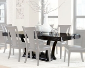 Najarian Furniture Pedestal Dining Table Sonoma NA-SNTB