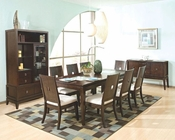 Najarian Furniture Spiga Dining Set NA-SP5SET