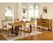 Natural Finish Dining Set MCFD118