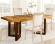Natural Finish Dining Table MCFD118-T