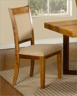 Natural Finish Side Chair MCFD118-CS (Set of 2)