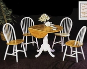 Natural / White Dinette Set CO-4241s