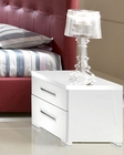 Night Stand Blanca in White Modern Style Made in Italy 33B393