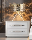 White Night Stand in Modern Style Carmen 33170CA
