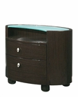 Night Stand Elma Modern Style in Wenge Finish 35B23