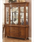 Oak Finish Buffet w/ Hutch Keegan II by Homelegance EL-2546NF-50