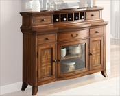Oak Finish Server Keegan II by Homelegance EL-2546NF-40