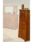 Oak Five-Drawer Jewelry Chest Bungalow by Ayca AY-AP5-0625
