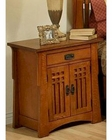 Oak Nightstand in Cherry Finish Bungalow by Ayca AY-AP5-0661