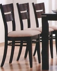 Occasional Dining Dining Chair in Cappuccino ( Set of 2 ) MO-6750CH