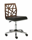 Office Armless Chair Sophia by Euro Style EU-2715-ALC