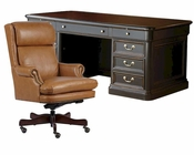 Office Set Louis Phillippe by Hekman HE-79140-SET