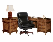 Office Set w/ Executive L-Desk Urban by Hekman HE-79107-SET