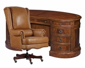 Office Set w/ Kidney Desk New Orleans by Hekman HE-11340-SET