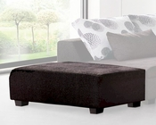 Ottoman in Brown Finish 33LS62