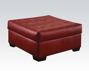 Ottoman Shi Cardinal by Acme Furniture AC50444