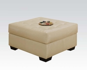 Ottoman Shi Natural by Acme Furniture AC50633