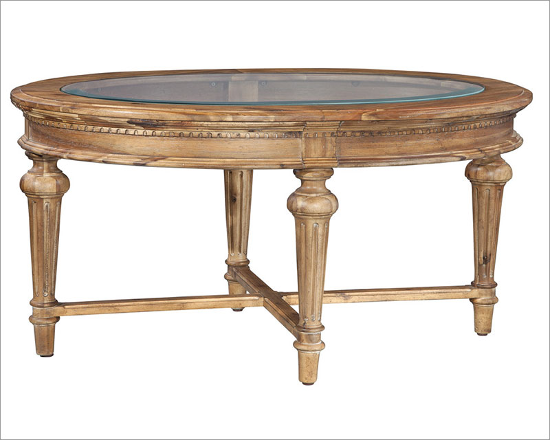 Oval Coffee Table Wellington By Hekman HE 23300