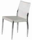 Palmira White Side Chair 44DY024 (Set of 2)