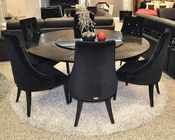 Paola Black Dining Set 44DAC833-180SET