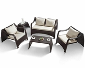 Paola Modern Outdoor Patio 5pc Sofa Set 44PHT28