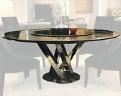 Paola Round Black Dining Table 44DAC833-180