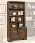 Parker House 2pc Library File and Hutch Meridien PH-MER-476-2