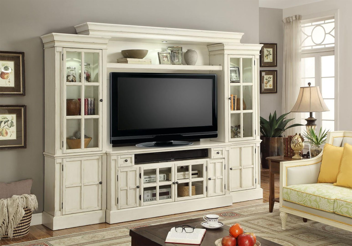 Parker House 72in Tv Entertainment Center Wall Unit