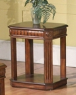 Parker House Chairside Table in Dark Red Walnut PH-TAB37-06