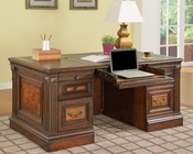 Parker House Corsica Double Pedestal Executive Desk PH-COR480-3