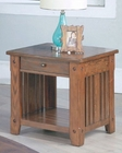 Parker House End Table in Dark Oak PH-TAB13-01