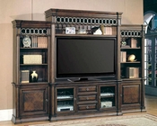 Parker House Entertainment Wall Unit Park Place PH-PAR600-5WS