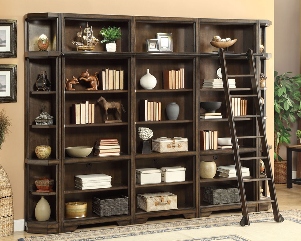 parker house home office set w bookcases meridien ph mer set13