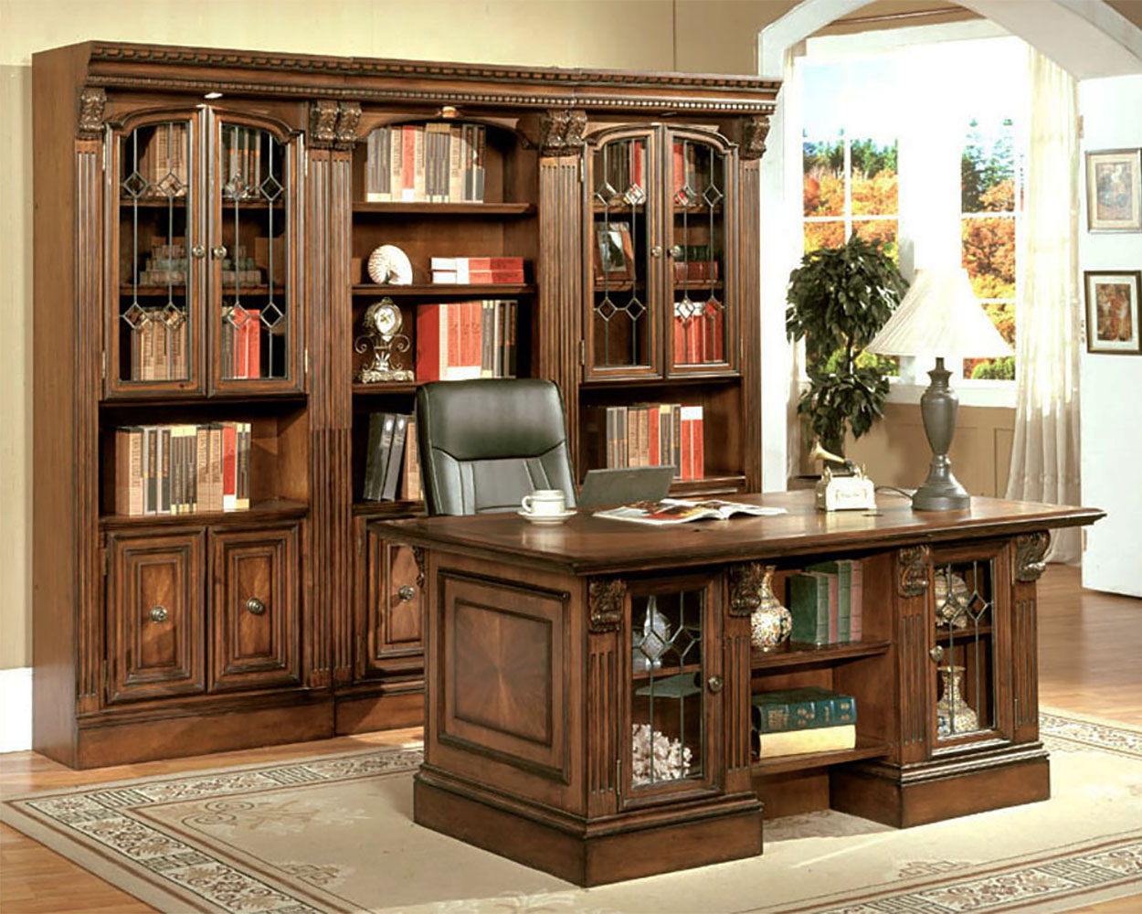 Hom Office Furniture: Parker House Huntington Home Office Furniture PH-HUN-6