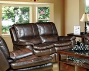 Parker House Juno Recliner Loveseat in Nutmeg Finish PHMJUN-822P-NU