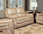 Parker House Juno Recliner Loveseat in Sand Finish PHMJUN-822P-SA