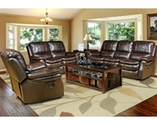 Parker House Juno Sofa Set in Nutmeg Finish PHMJUN-SET-NU