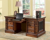 Parker House Leonardo Double Pedestal Executive Desk PH-LEO-480-3