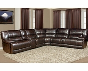 Parker House Pegasus Sectional Sofa in Nutmeg Finish PHMPEG-SET-NU