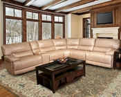 Parker House Pegasus Sectional Sofa in Sand Finish PHMPEG-SET-SA