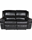 Parker House Python Dual Recliner Power Loveseat PHMPYT-822P-BK