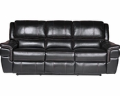 Parker House Python Sofa Dual Recliner Power PHMPYT-832P-BK