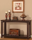 Parker House Sofa Table/ TV Console Auburn PHTPAU-07