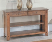 Parker House Sofa Table / TV Console in Dark Oak PH-TAB13-07