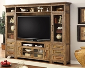 Parker House TV Entertainment Center Wall Unit Hunts Point PH-HPT-120-5