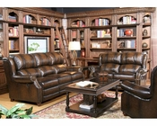 Parker House Twain Sofa Set in Black Brown Finish PHMTWA-832SET-BB