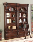 Parker House Versailles Museum Bookcase w/ Ladder & Rail PH-VER-SET3