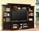 Parker House Wall Entertainment Center Premier Auburn PH-PAU100-4X
